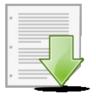 document, guardar, save icon