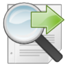 document, find, search icon