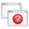 menu, panel, window icon