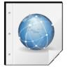 application, mime, web icon