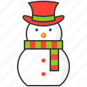 christmas, holiday, snow, snowman, winter, xmas