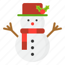 christmas, holiday, snow, snowman, winter, xmas icon