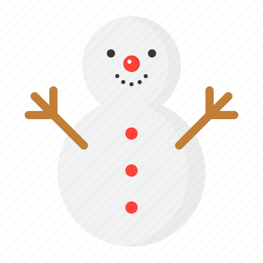 christmas, ice, snow, snowman, winter, xmas icon
