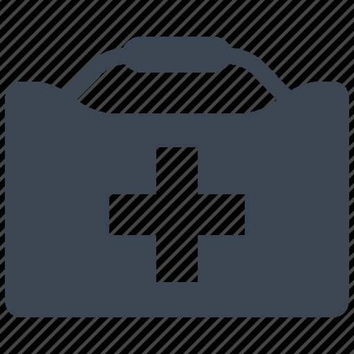 aid, box, kit, medical icon