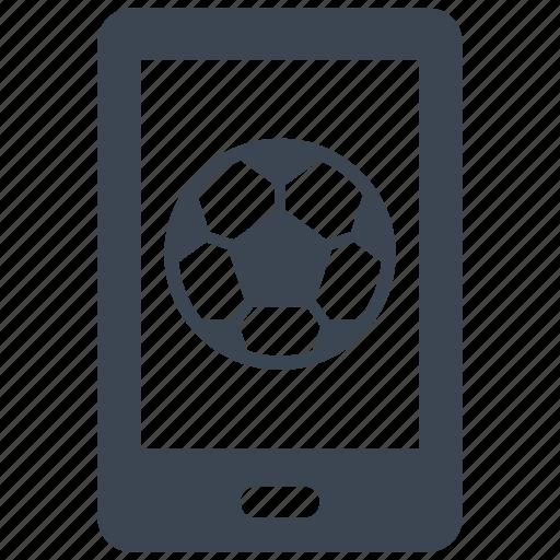 app, football, mobile, soccer icon