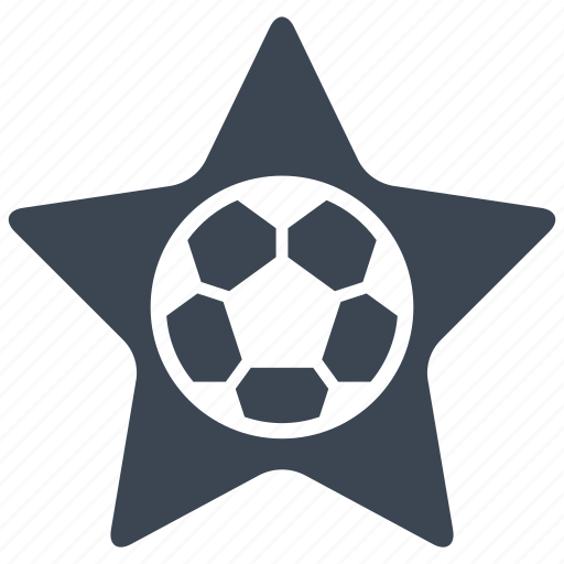 favorite, football, rating, soccer, star icon