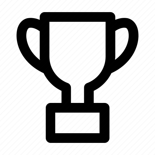 trophy, winner icon