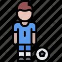 ball, football, man, player, soccer, sport