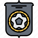 club, emblem, football, player, soccer, sport icon
