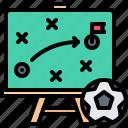 blackboard, board, football, player, soccer, sport, strategy