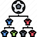football, player, soccer, sport, team, tournament, victory icon