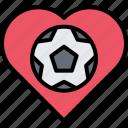 ball, football, heart, love, player, soccer, sport