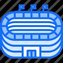 field, football, player, soccer, sport, stadium icon