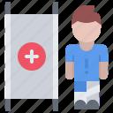 football, injury, man, player, soccer, sport, stretcher