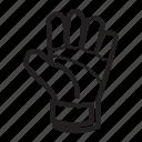 gloves, goalkeeper, goalkeeper gloves icon
