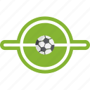 ball, football, middle field, soccer, sport, sports, stadium icon