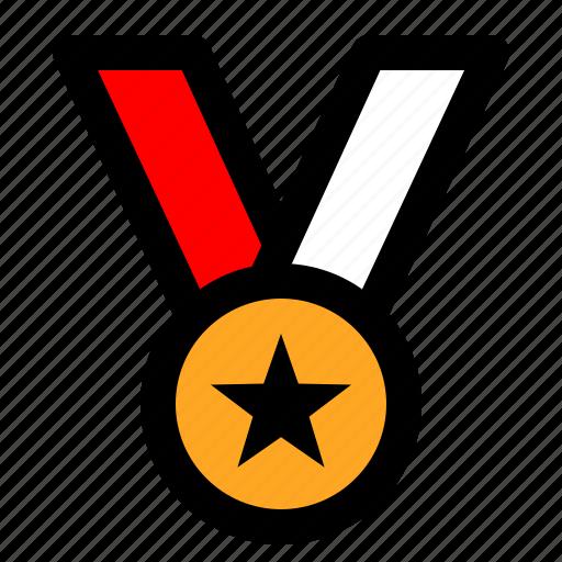 medal, soccer, sport, tournament icon