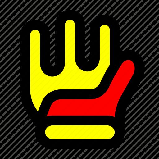 glove, keeper, soccer, sport icon