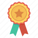 award, badge, champion, medal, winner icon