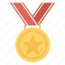 award, champion, medal, prize, winner icon