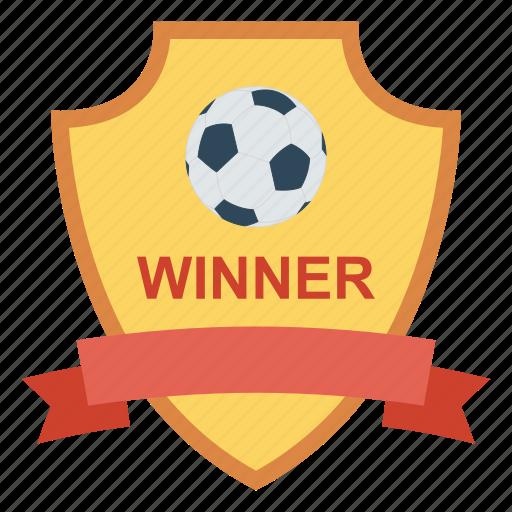 champion, goal, prize, shield, winner icon