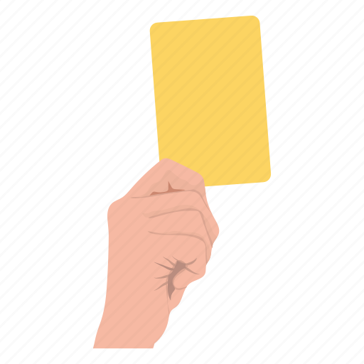 game, referee, soccer, sport, yellowcard icon