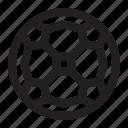 ball, orb, soccer, sphere icon