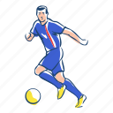 athlete, ball, football, iceland, player, soccer, sport icon