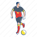 athlete, ball, belgium, football, player, soccer, sport