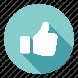 achievement, favorite, like, success, thankyou, thumb, vote up icon