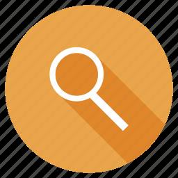 explore, find, identify, magnify, search, view, zoom icon