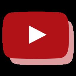 media, network, social, youtube icon