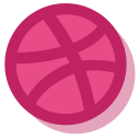 dribbble, media, network, social icon