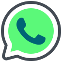 chat, communication, message, social media, talk, whatsapp icon