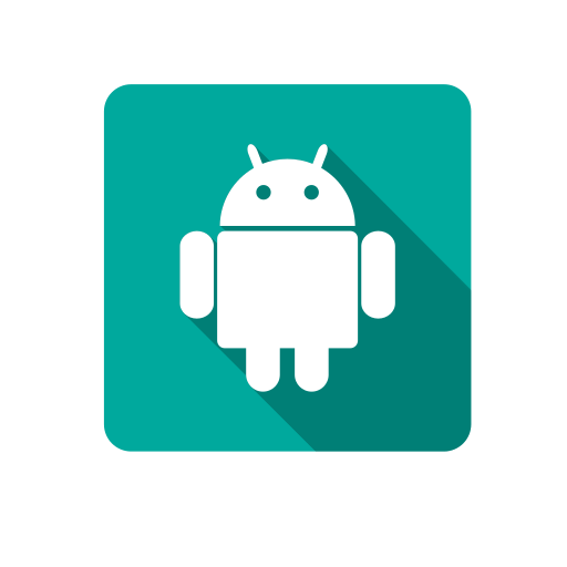 android, robot, social icon