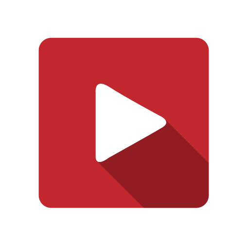 movie, play, video, youtube icon