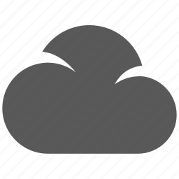 cloud, cloud computing, social, weather icon