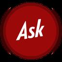 ask, social icon