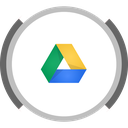 drive, google, storage icon