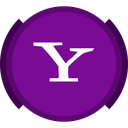 mail, search, social, yahoo icon