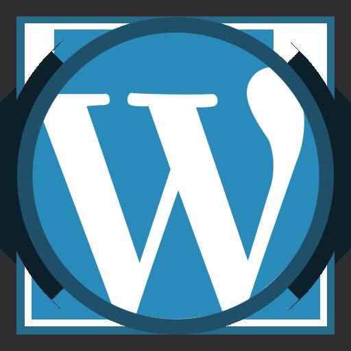 cms, social, theme development, wordpress icon