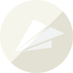 email, letter, mail, message, notification, paper, plane, send icon