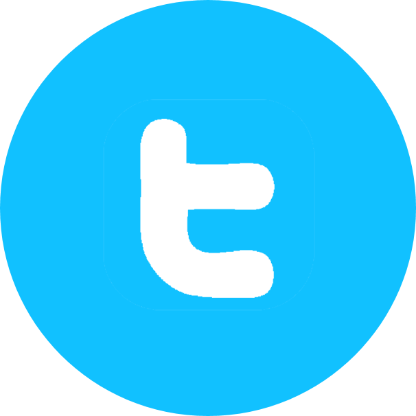 blue twitter, twitter, twitter logo, twitter logo letter icon