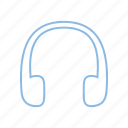 audio, headphones, music, phones, sound icon