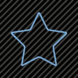 bookmark, favourite, forward, rate, star, vote icon