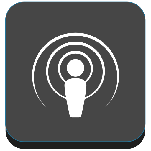 itunes, media, podcast, social icon