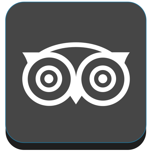 media, social, travel, tripadvisor icon