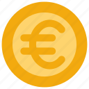 coin, euro, money