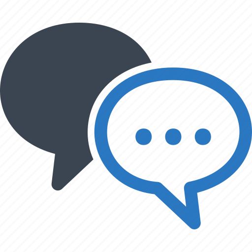 chat, communication, conversation, customer service, speech bubbles, talk icon