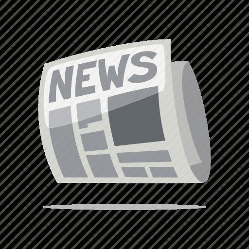 media, news, newspaper, press icon